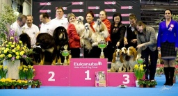 3. place in Best breeding group - Odeta, Perla, Pan Lady Barnett´s